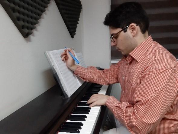 سید محمد تنکابنی، مدرس موسیقی