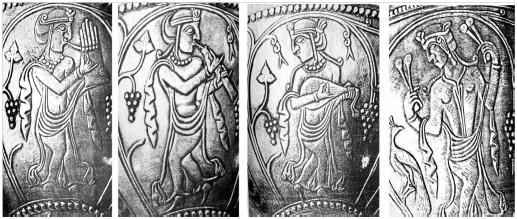 چند نوازنده دوره ساسانیان